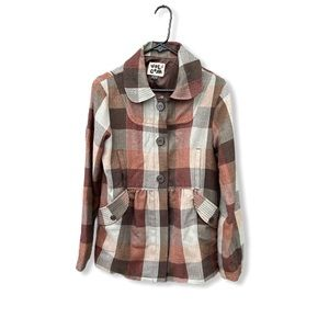 Volcom Plaid to the Bone Jacket